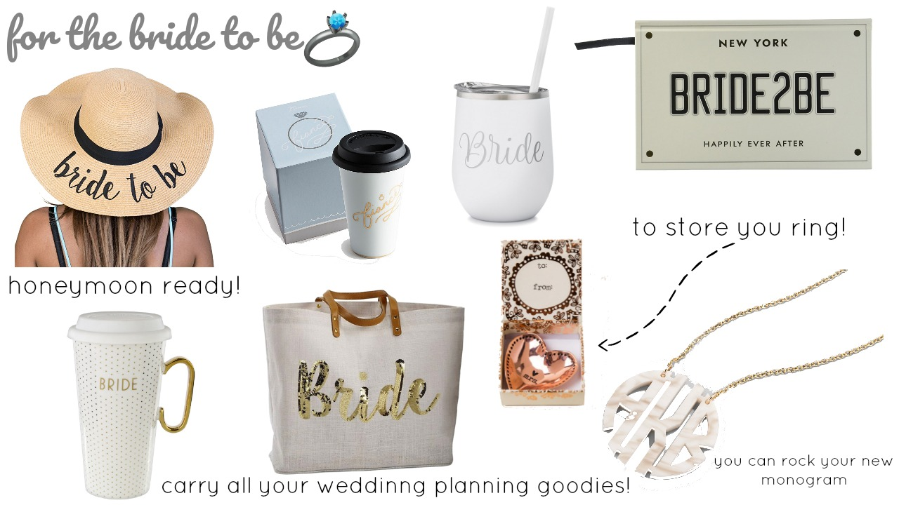 gift guide for the bride to be